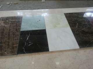 Мраморная плитка , произведенная в Италии на нашем складе в Киеве
