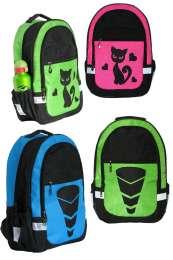 Школьный комплект рюкзак и сумка,ткань кринкл, светоотражающие вставки