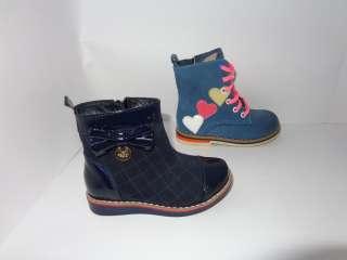 Детские ботинки, натуральные, Bistfor, возможна примерка, р. с 25 по 3