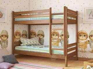 Кровать из дерева Л-302 детская/подростковая ТМ Скиф title=