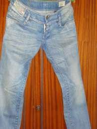 Diesel, джинсы женские голубого цвета, 44 размер (S)