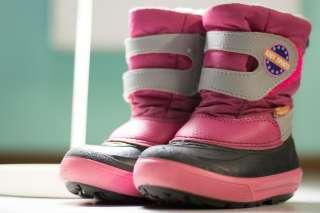 Зимние сапоги Demar BABY SPORTS (розовые)