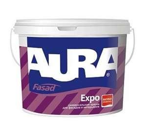 Универсальная Краска Aura Fasad Expo (10 л) Акционная цена!