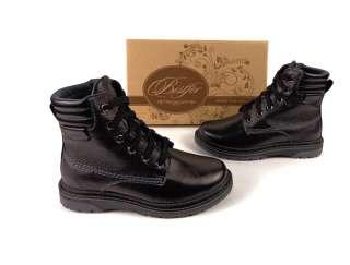 Зимние ботинки Тм Bistfor, кожаные, с 32 по 36 рр, возможна примерка