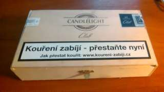 Сигары сигареты  Candlelight.  50 шт в коробке цена за коробку