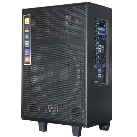 ✓Акустическая система LAV PA-1201W для мероприятий с Bluetooth USB / S