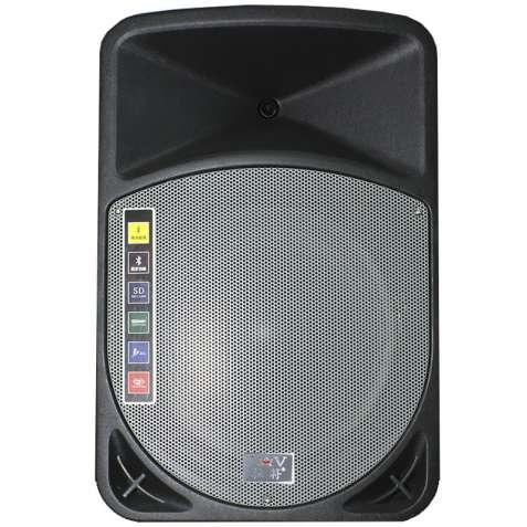 ☞Акустическая система LAV PA-152 для концертов и мероприятий USB / SD