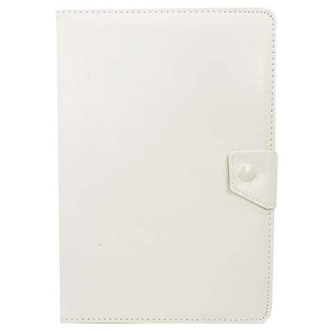 """Чехол универсальный 10 """" (Белый) защитный чехол - книжка для планшета"""