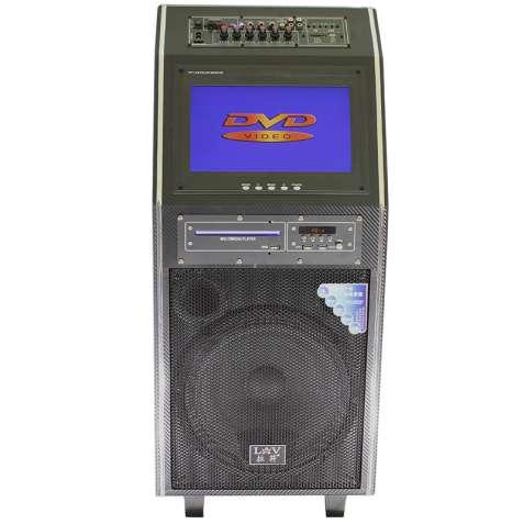 ☀Акустическая система LAV PA-212 300Вт 2 беспроводных микрофона пульт