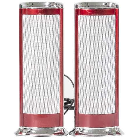 Громкие колонки IFANG S-611 красные для компьютера ноутбука универсаль