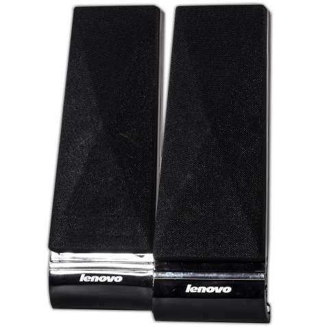 Универсальные колонки LENOVO L1520 черные для компьютера ноутбука USB