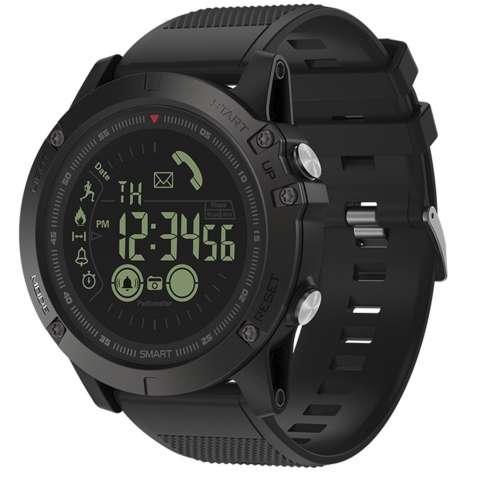 """✦Смарт-часы Zeblaze VIBE 3 Black OLED 1.24"""" стальной корпус Bluetooth"""