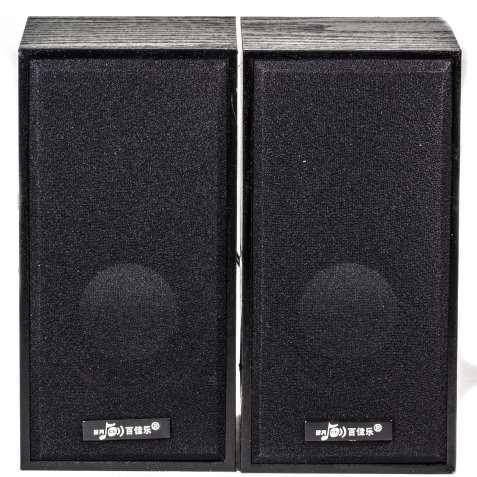 Музыкальные колонки BAGD M5 черные для компьютера ноутбука музыки муль