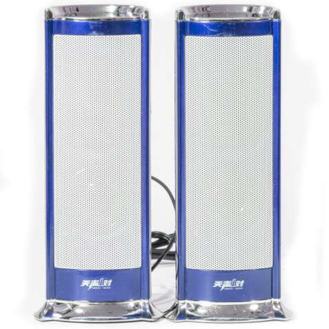 Супер колонки IFANG S-611 синие USB jack 3.5 mm для просмотра фильмов