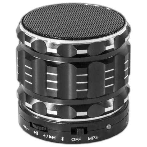 Компактная мини колонка Lesko BL S28 черная с микрофоном беспроводная