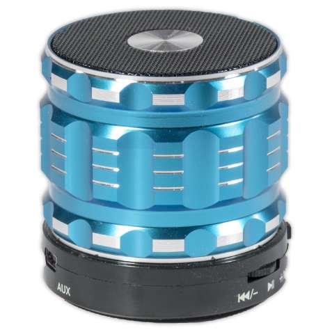 Мини колонка Lesko BL S28 синяя с микрофоном беспроводная bluetooth sp
