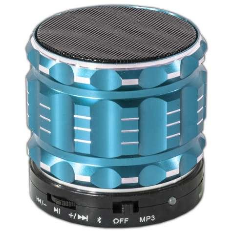 Мини bluetooth динамик Lesko BL S28 синий беспроводной с микрофоном mp