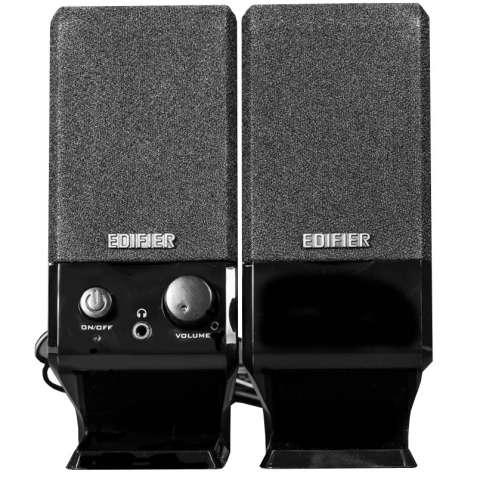 Универсальные колонки EDIFIER R10U USB черные для просмотра фильмов пр