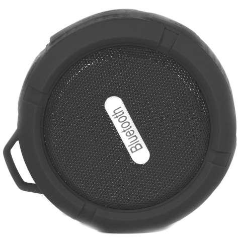 Портативная колонка Lesko BL C6 черная водонепроницаемая с микрофоном