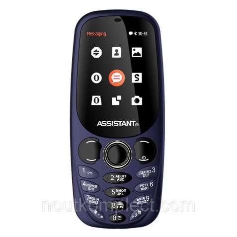 Мобильный телефон Аssistant AS 201 синий