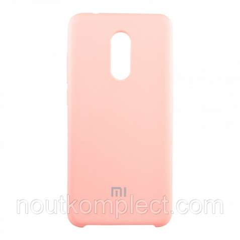 Чехол Silk Silicon для Xiaomi Redmi 5 Pink (PC-003092)