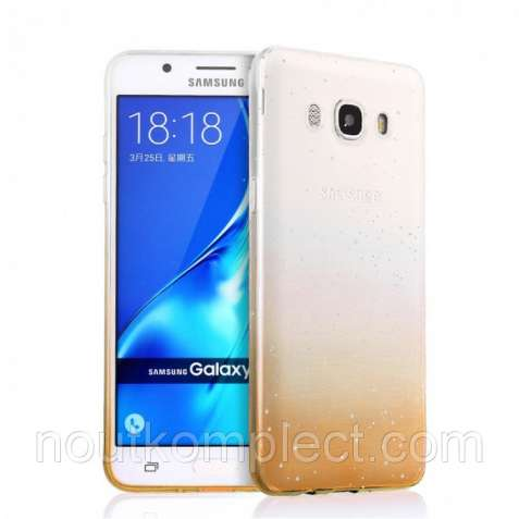 Чехол PC Glaze Cover для Samsung Galaxy J5 2016/J510 Gold (PC-001602)