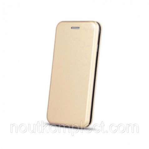 Чехол-книжка Premium Edge для Apple iPhone 5/5S/SE Gold (PC-000058)