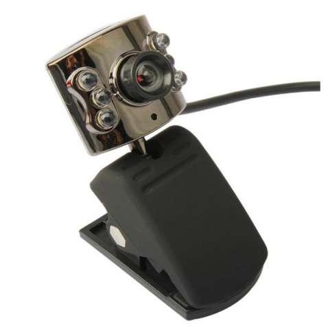 Веб камера с подсветкой и микрофоном.