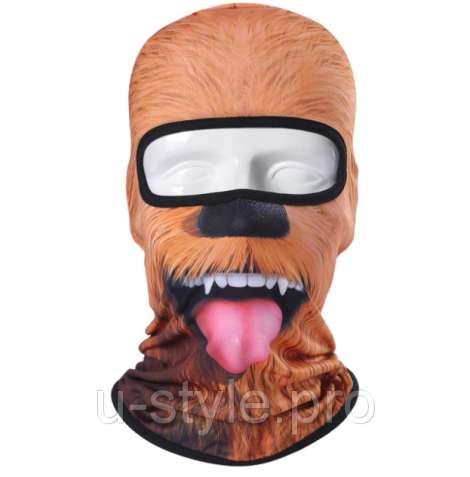 Подшлемник, маска, балаклава с принтом!