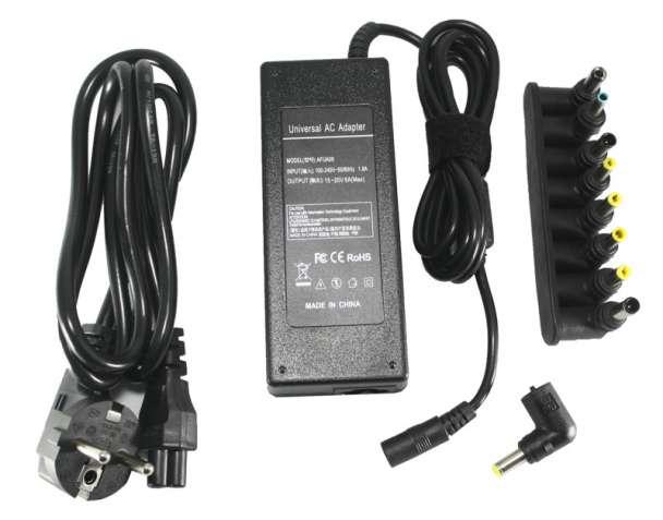 Универсальный блок питания для ноутбуков PowerPlant 220V, 15-20V 120W