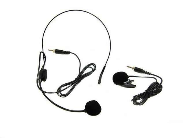 Радиомикрофон с 2 гарнитурами UKC SH-300XH