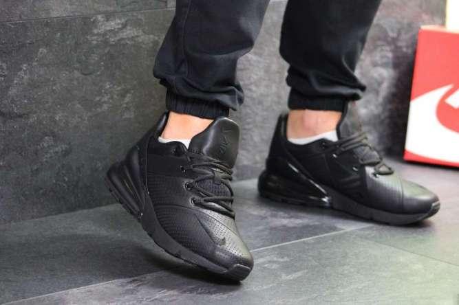 Мужские кроссовки черные Nike Air Max 270 7261