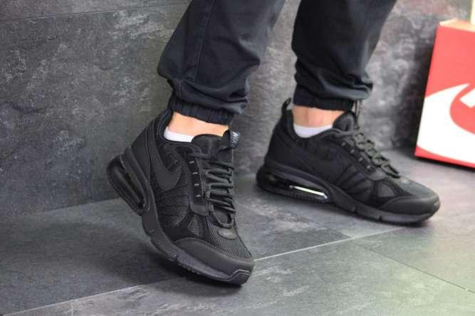 Мужские кроссовки черные Nike 7358
