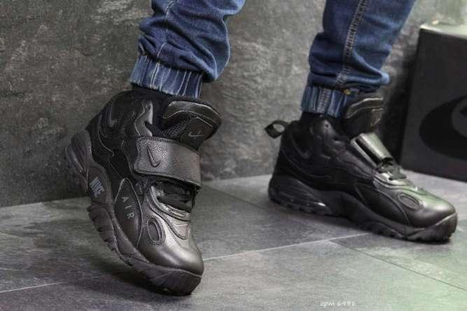 Мужские кроссовки черные Nike 6998