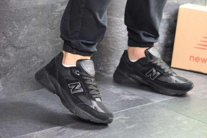Мужские кроссовки черные New Balance 991.9 7469