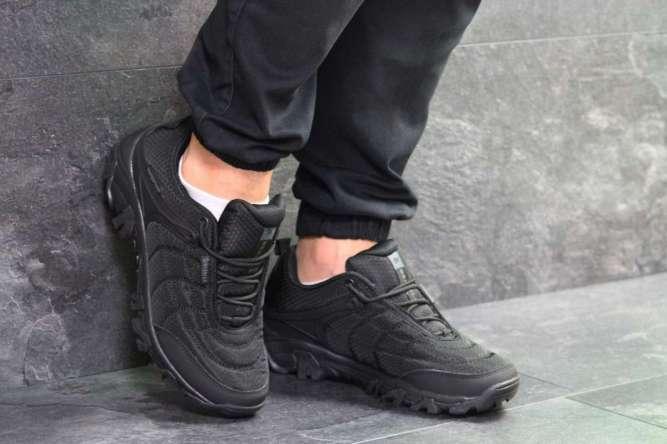 Мужские кроссовки черные Merrell 7074