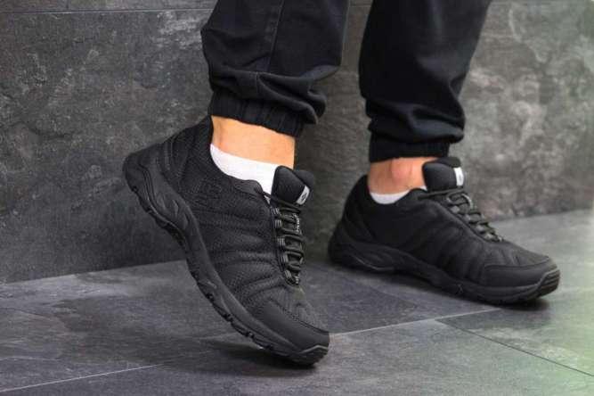 Мужские кроссовки черные Columbia 6710