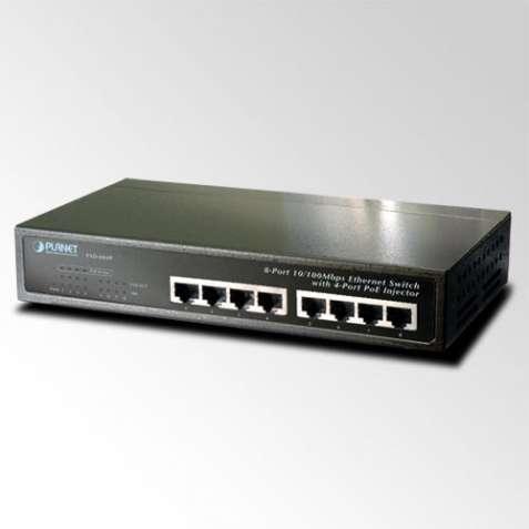 Неуправляемый коммутатор PoE Planet FSD-804P-EU (8-Port 10/100Mbps wit