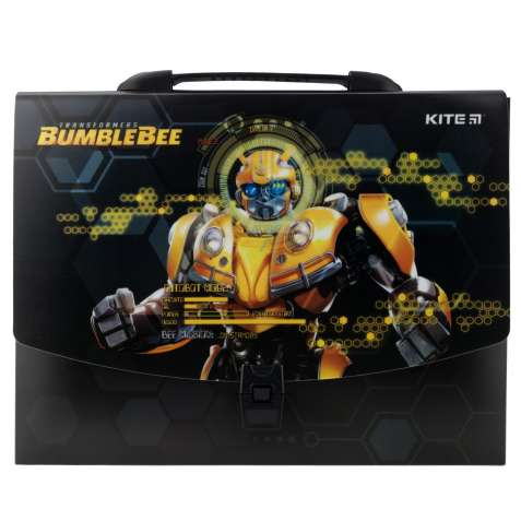 Портфель-коробка А4 KITE 2019 Transformers BumbleBee Movie 209 (TF19-2