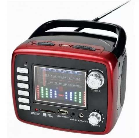 Бумбокс, портативный радиоприёмник, магнитола GOLON RX-6669  USB, FM,
