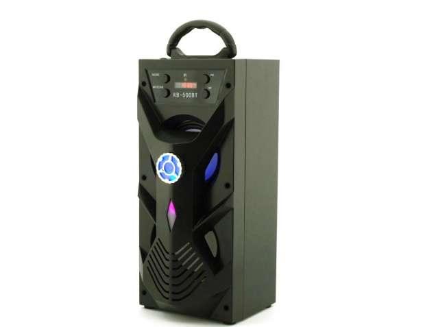 Cтерео колонка портативная Kipo KB-500BT с Bluetooth, USB, FM, караоке