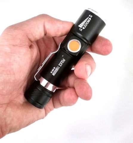 Тактический фонарик POLICE BL-616-T6