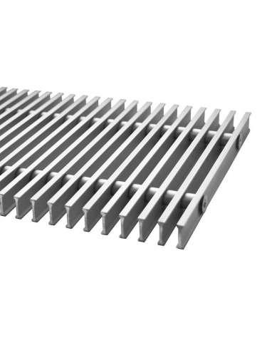 Решетка алюминиевая для конвекторов Carrera М,С Black 65. 230.3000