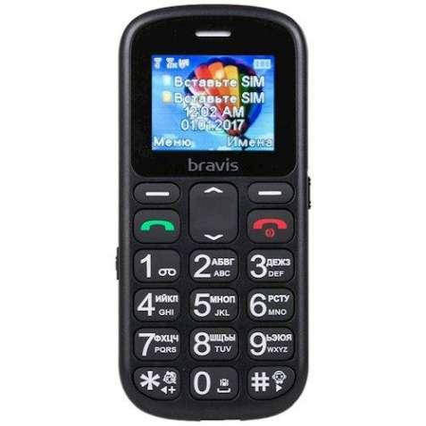 Мобильный телефон BRAVIS C181 (бабушкофон)
