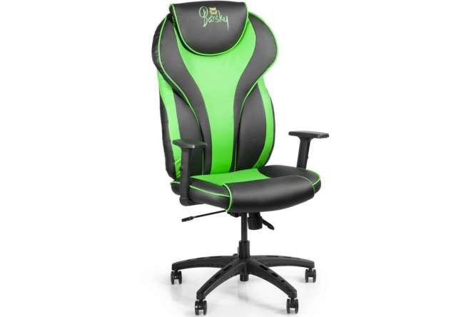 Кресло для врача Barsky Sportdrive Blue Arm_pad Tilt Chrome BSDchr-02