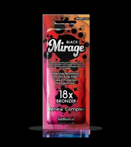 Крем для загара в солярии Solbianca Mirage 18х bronzer, 15 ml