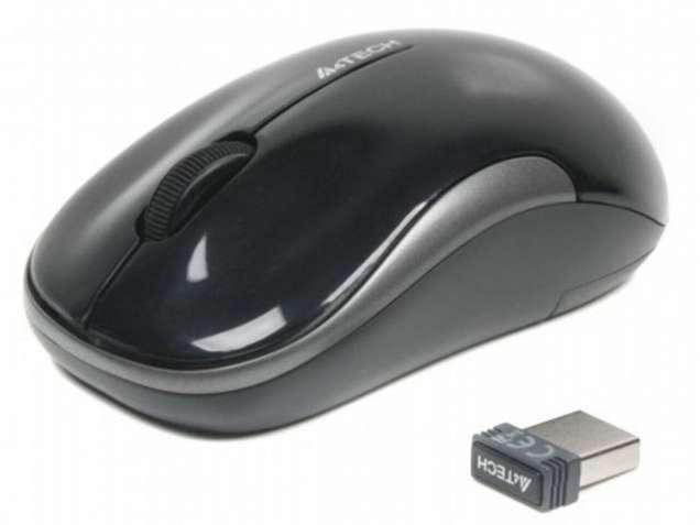 Мышь A4Tech V-Track G3-300N USB Black