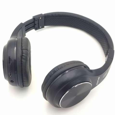 Беспроводные наушники с микрофоном Bluetooth гарнитура AWEI A600BL чер