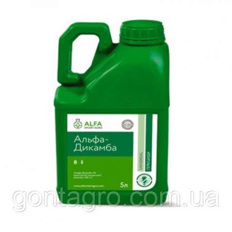 Гербицид Альфа-Дикамба (Банвел) 5 л