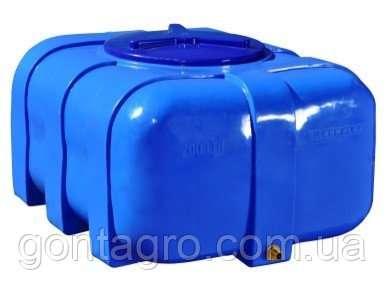 Емкость, бочка пластиковая квадратная 100 л